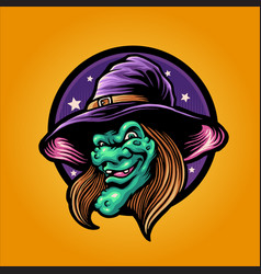 magic withcraft halloween vector image