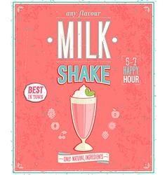 milkshake2 vector image