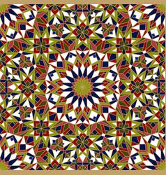 morrocan pattern vector image