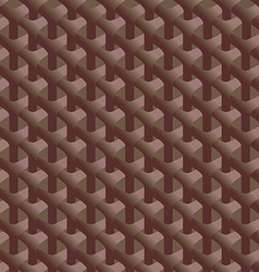 Seamless braided bark vector image