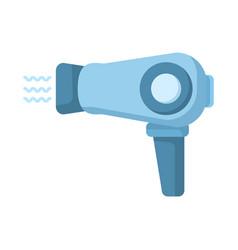 Hairdryer flat icon vector