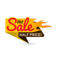 Hot sale price offer deal labels templates vector