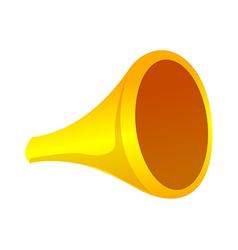 Icon horn vector