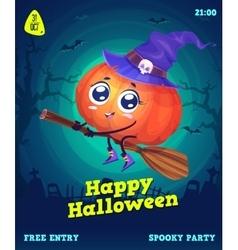 set halloween vector image