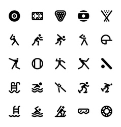 Sports and Games Icons 13 vector