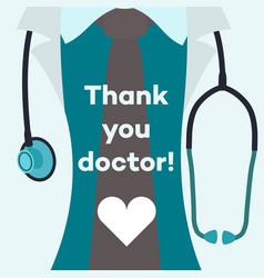 Thank you doctor - concept vector