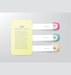 timeline business infographic template vector image