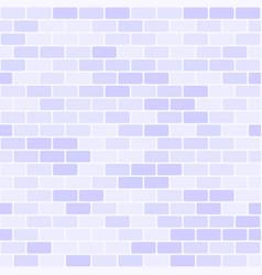 Violet brick wall pattern seamless brick vector