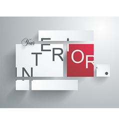 Square blank background - Design Concept vector image