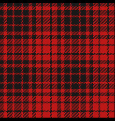 flannel seamless pattern vector image vector image