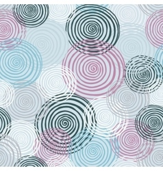 Colorfull seamless helix pattern Winter colection vector image vector image