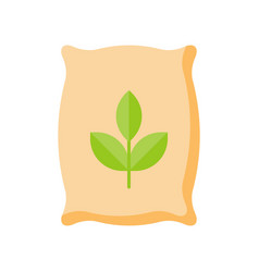 Fertilizer flat icon vector