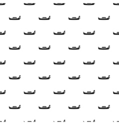 Gondola pattern simple style vector
