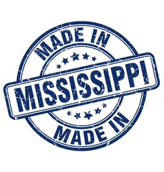 Made in mississippi vector