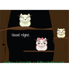 Night Time vector image