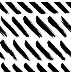 tilted brushstrokes lines seamless pattern vector image