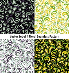 Traditional Russian pattern frames set in vector