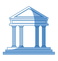 bank building investment safety money finance vector image
