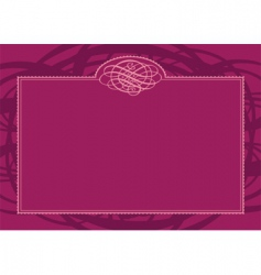 swirl border and frame vector image vector image