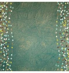 Vintage dots background vector image vector image