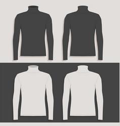 Mens sweater vector