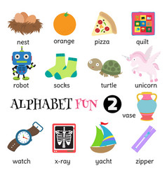 Alphabet fun 2 vector