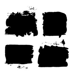 Brush strokes set 014 vector