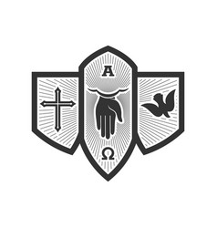Composition holy trinity vector