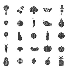 Fruits and Veggies vector