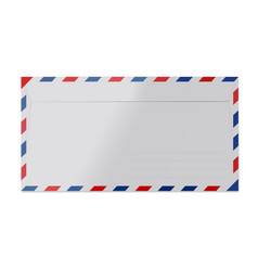 Paper envelope isolated vector