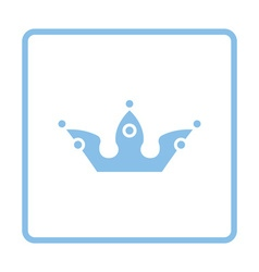 Party crown icon vector