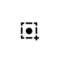 Photo push icon symbol sign vector