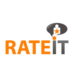 rate it vector image