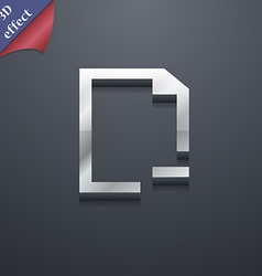 Remove Folder icon symbol 3D style Trendy modern vector