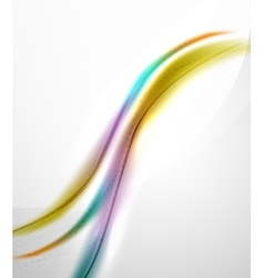 Smooth raibow color gradients in business wave vector