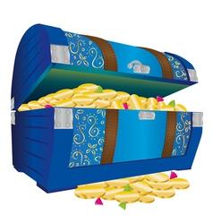 Treasure chest vector