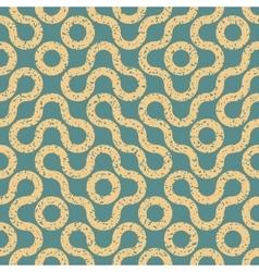 Seamless wavy geometric lines irregular vector