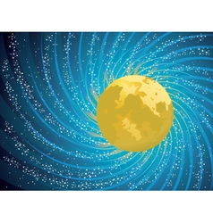Abstract night sky vector image vector image