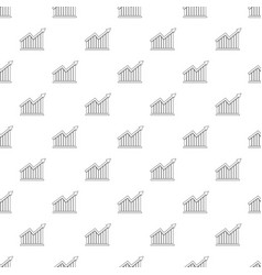 best graph pattern seamless vector image