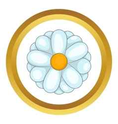 Daisy icon vector
