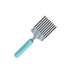 Kitchen spatula icon flat style vector