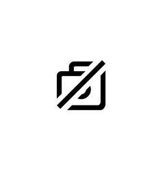 photo not found icon symbol sign vector image