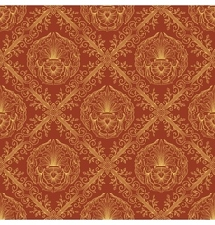 Seamless oriental wallpaper3 vector image