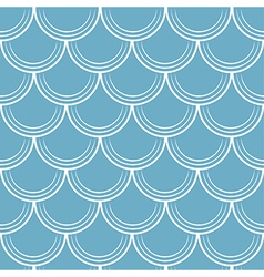 Seamless pattern with scale vector