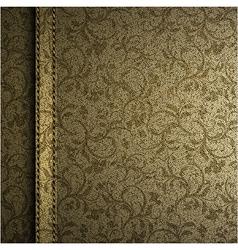 Textile texture background vector