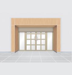 door vector image vector image