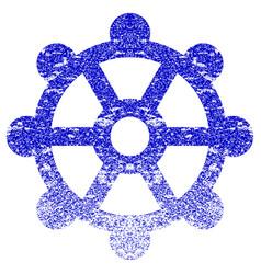 Cog textured icon vector