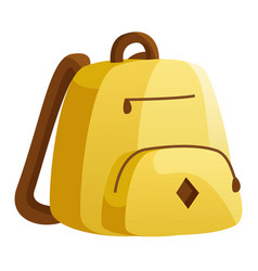 Backpack for school and college casual rucksack vector
