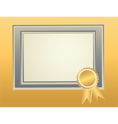 border frame template vector image