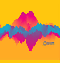 colorful abstract background dynamic effect vector image